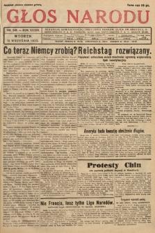Głos Narodu. 1932, nr248