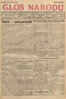 Głos Narodu. 1932, nr251