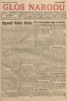 Głos Narodu. 1932, nr255