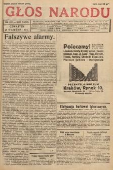 Głos Narodu. 1932, nr257