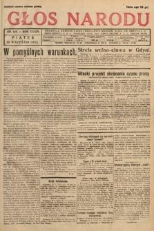 Głos Narodu. 1932, nr258