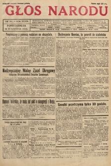 Głos Narodu. 1932, nr261