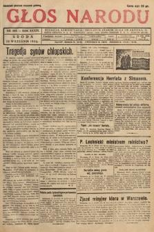 Głos Narodu. 1932, nr263
