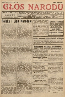 Głos Narodu. 1932, nr266