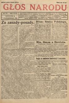 Głos Narodu. 1932, nr270