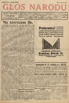 Głos Narodu. 1932, nr271