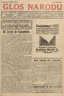 Głos Narodu. 1932, nr274