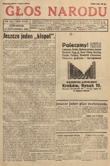 Głos Narodu. 1932, nr278