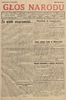 Głos Narodu. 1932, nr279