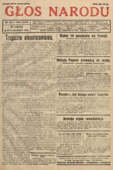 Głos Narodu. 1932, nr283