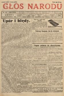 Głos Narodu. 1932, nr284