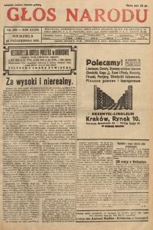 Głos Narodu. 1932, nr288