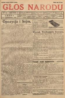Głos Narodu. 1932, nr291