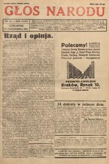 Głos Narodu. 1932, nr292