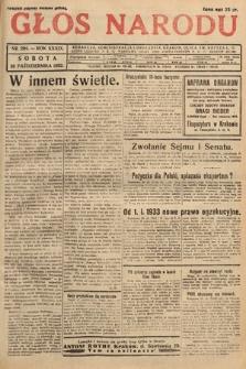 Głos Narodu. 1932, nr294
