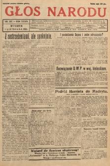 Głos Narodu. 1932, nr297
