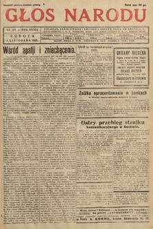 Głos Narodu. 1932, nr301