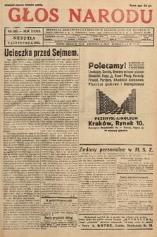 Głos Narodu. 1932, nr302