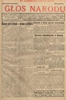 Głos Narodu. 1932, nr307