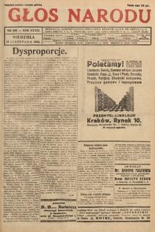 Głos Narodu. 1932, nr309