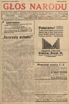 Głos Narodu. 1932, nr313