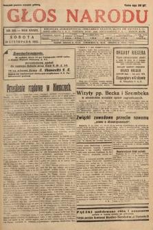 Głos Narodu. 1932, nr315