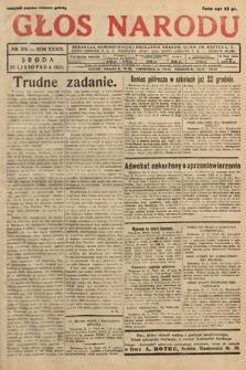 Głos Narodu. 1932, nr319