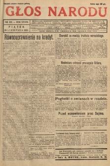 Głos Narodu. 1932, nr321