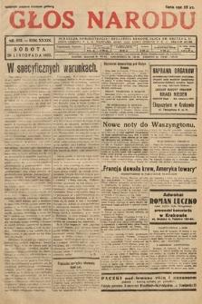 Głos Narodu. 1932, nr322
