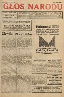 Głos Narodu. 1932, nr323