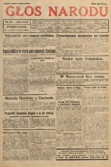 Głos Narodu. 1932, nr324