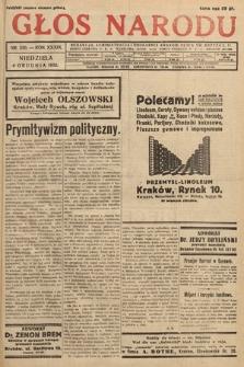 Głos Narodu. 1932, nr330