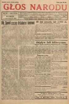 Głos Narodu. 1932, nr332