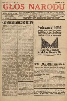 Głos Narodu. 1932, nr334