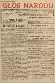 Głos Narodu. 1932, nr339