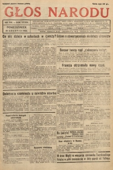 Głos Narodu. 1932, nr344