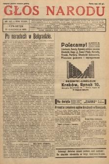 Głos Narodu. 1932, nr347