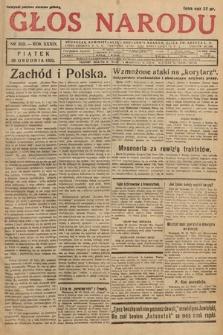 Głos Narodu. 1932, nr352