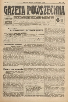 Gazeta Powszechna. 1910, nr11