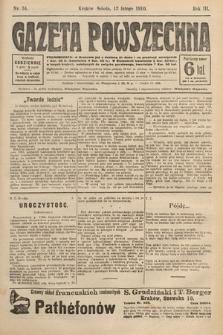 Gazeta Powszechna. 1910, nr34