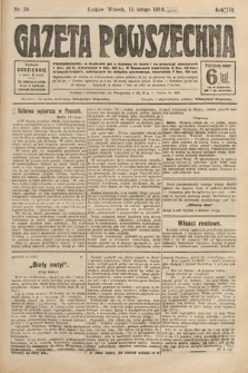 Gazeta Powszechna. 1910, nr36