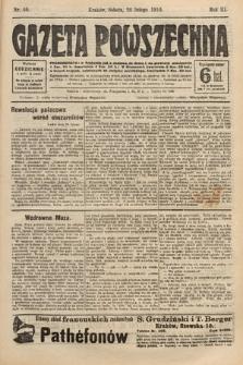 Gazeta Powszechna. 1910, nr46