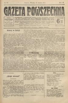 Gazeta Powszechna. 1910, nr60