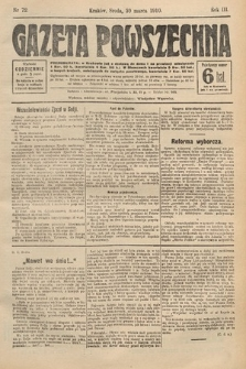 Gazeta Powszechna. 1910, nr72