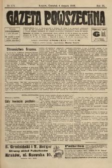 Gazeta Powszechna. 1910, nr176