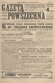 Gazeta Powszechna. 1909, nr236