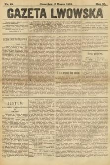 Gazeta Lwowska. 1893, nr 49