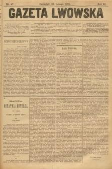 Gazeta Lwowska. 1902, nr47