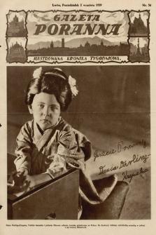 Gazeta Poranna : ilustrowana kronika tygodniowa. 1929, nr34