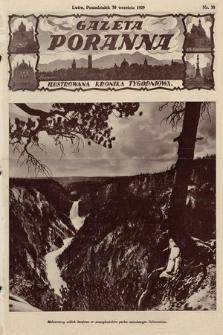Gazeta Poranna : ilustrowana kronika tygodniowa. 1929, nr38